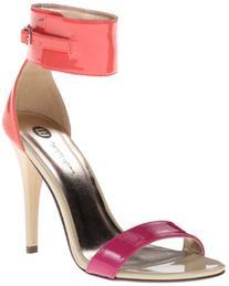 Michael Antonio Women's Jude PT Dress Sandal,Fuchsia,8.5 M