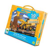 The Learning Journey Jumbo Floor Puzzles, Dirt Digger Floor