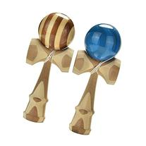 Welecom 1 Pcs Jumbo Kendama Japanese Traditional Game Wooden