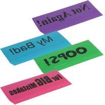 Set of 3 Jumbo Novelty Erasers Colors Chosen at Random
