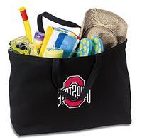 JUMBO OSU Buckeyes Tote Bag or Large Canvas Ohio State