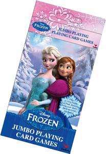Disney Frozen Jumbo Playing Card Games