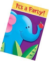 Jungle Party - Invitations - 8/pkg