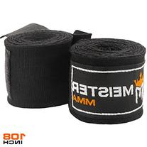 "Meister Junior 108"" Elastic Cotton Hand Wraps for MMA &"