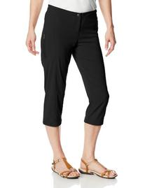 Columbia Women's Just Right II Capri, Black, 6