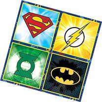 DC Comics Justice League Birthday Party Beverage Napkins -
