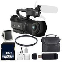 JVC GY HM200 GYHM200 4KCAM Compact Handheld Camcorder 32GB