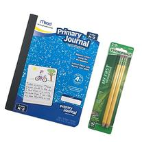 Mead K-2 Primary Journal and My First Ticonderoga Beginner