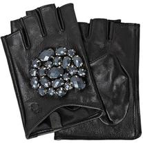 Karl Lagerfeld K/Geo Stones Fingerless Gloves