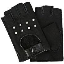Karl Lagerfeld K/Shearling Fingerless Gloves
