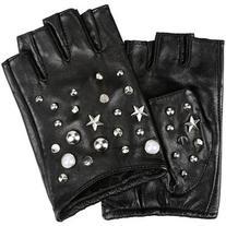 Karl Lagerfeld K/Studs Fingerless Glove