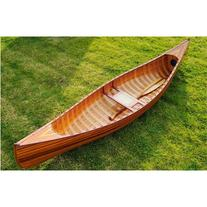 Old Modern Handicrafts K034 10' Canoe in Brown with Ribs