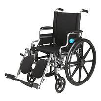 Medline K4 Standard Lightweight Wheelchair with Flip-Back