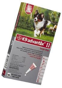 K9 Advantix Dog Red 21-55 lbs