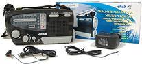 Kaito KA888 4-way Powered Emergency Radio, AM FM Shortwave
