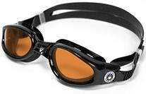 Aqua Sphere Kaiman Tinted Goggles Black with Amber Lens