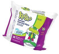 Kandoo Flushable Toddler Wipes-Magic Melon Scent-Refill