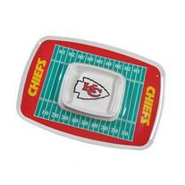 Siskiyou Sports Kansas City Chiefs Chip And Dip Tray Chip and Dip Tray