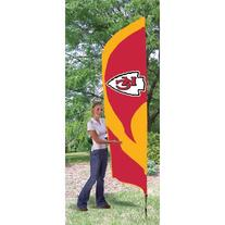 Kansas City Chiefs Official NFL 8' Tailgate Banner Flag by
