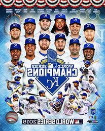 Kansas City Royals 2015 World Series Champions Team