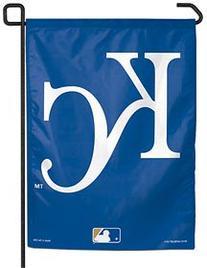 "MLB Kansas City Royals Garden Flag, 11""x15"", Team Color"