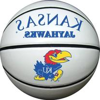 Kansas Jayhawks Official Size Synthetic Leather Autograph