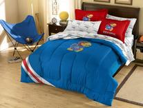 NCAA Kansas Jayhawks Full Bed in a Bag with Applique