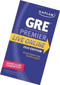 Kaplan GRE Exam 2010 Premier Live Online
