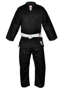 Fuji Karate Uniform, Black, 4