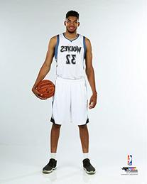 Karl-Anthony Towns Minnesota Timberwolves 2015 NBA Studio
