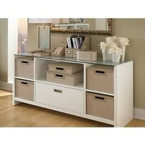 kathy ireland Office by Bush Furniture Bow-Front Desk with
