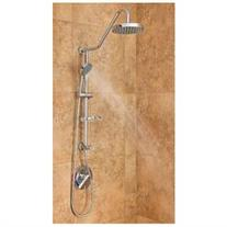 Kauai Rain Shower System - Finish: Chrome