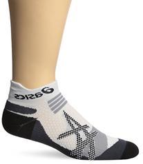 Kayano Single Tab Sock, Medium, White/Grey