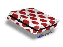 Kearas Polka Dots Brick - Decal Style Skin fits original PS4