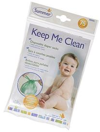 Summer Infant Keep Me Clean Disposable Diaper Sacks, Green
