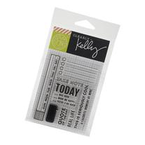 """Kelly Purkey Clear Stamps, 3"""" x 4"""" Sheet"""