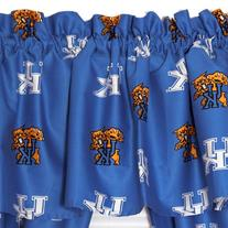 Kentucky Wildcats Curtain Valance From College Covers 84X15