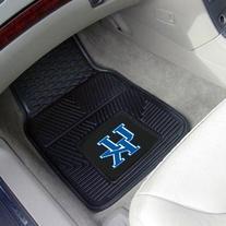 """Logo Car Mat - University Of Kentucky, Vinyl, 27""""L X 18""""W"""