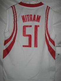 Kenyon Martin Houston Rockets White NBA Youth Revolution 30