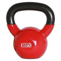 GoFit 15-lb Premium Kettlebell with Training DVD