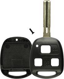 KeylessOption Key Replacement Case Shell Keyless Entry