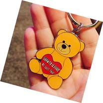 Hollabears Keychain Shawty U Fine As Shit Tho Teddy Bear