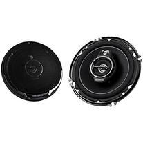 """Kenwood KFC-1695PS 6.5"""" 3 Way Round Car Speakers Pair"""