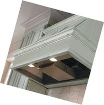 """Vent-A-Hood KH34SL SS 35"""" Decorative Wall Hood Liner With"""