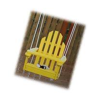 Kiddie Swing 16L x 20W x 16H Buttercup Yellow