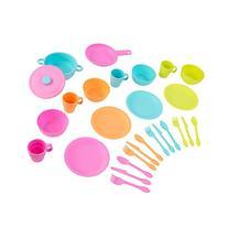 KidKraft 27pc Cookware Set - Brights