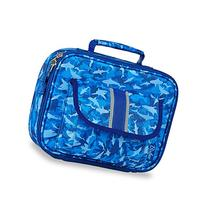 Bixbee Kids Blue Shark Camo Insulated Lunch Box