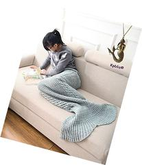 Kpblis® Kids and Adults Handcraft Crochet Mermaid Sleeping