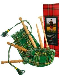 Kids Miniature Playable Bagpipes Reed in Heritage of Ireland