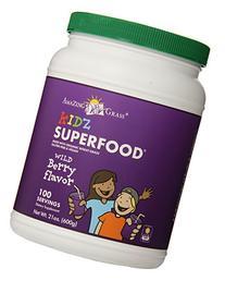 Kidz SuperFood Powder Berry-100 Servings Amazing Grass 21 oz